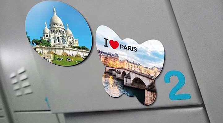 Magnets photo pour décorer