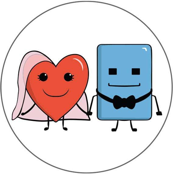 Magnets personnalisés mariage