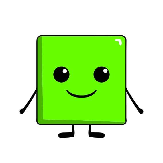 Magnet carré personnalisé icône