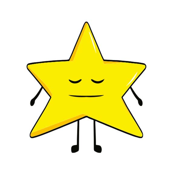 Magnet étoile personnalisé icône