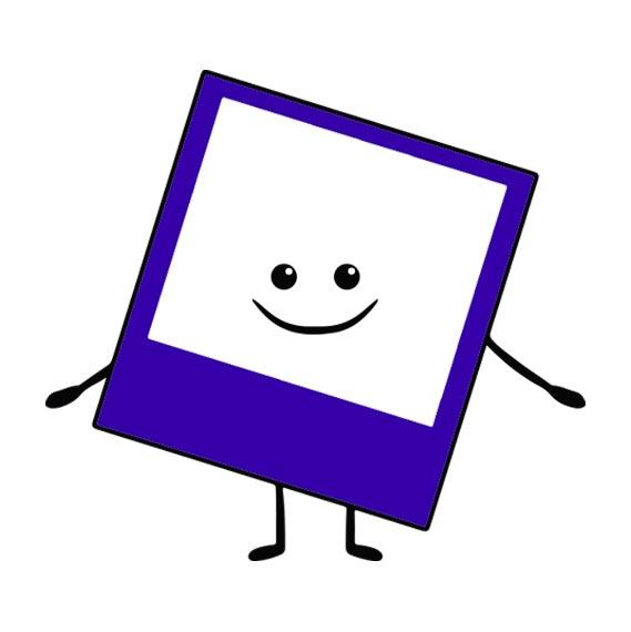 Magnet polaroid personnalisé icône