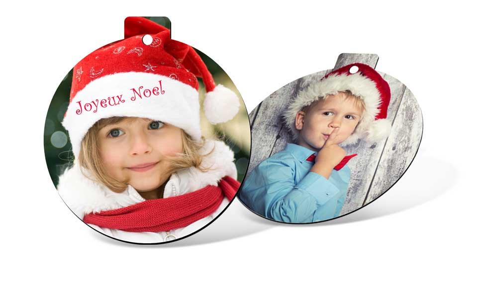 Photo magnet boule de Noël